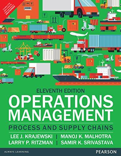 9789332548213: Operations Management 11/E