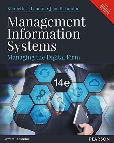 9789332548909: Management Information System: Managing the Digital Firm 14/ed