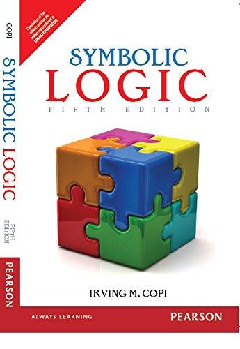 9789332549272: Symbolic Logic