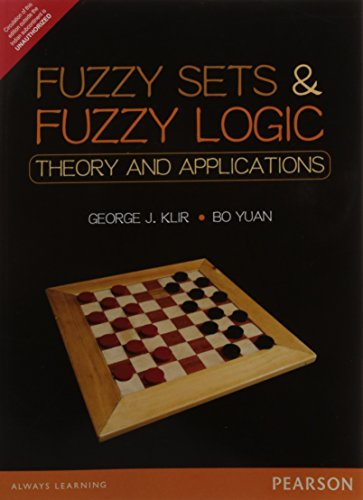9789332549425: Fuzzy Sets and Fuzzy Logic: Theory and A: Theory and Applications