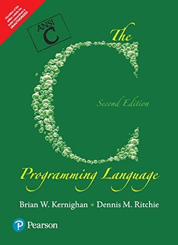 9789332549449: C Programming Language, 2Nd Edn