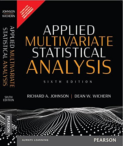 APPLIED MULTIVARIATE STATISTICAL ANALYSIS (P)