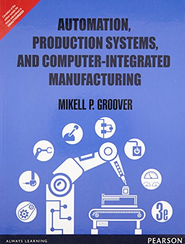 9789332549814: Automation Production Systems and Comput [Paperback] [Jan 01, 2015] Groover