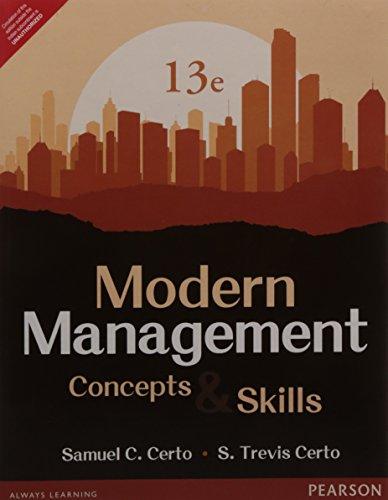 9789332549968: Modern Management: Concepts an
