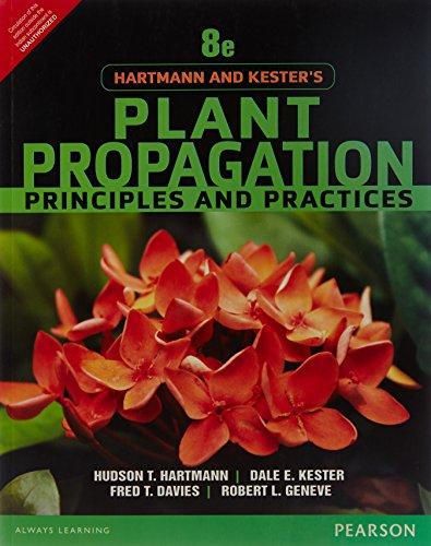 9789332550025: Hartmann & Kester's Plant Propogation: Principles and Practices