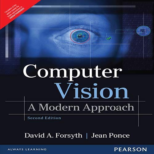 9789332550117: Computer Vision: A Modern Approach