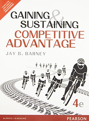9789332550155: Gaining And Sustaining Competitive Advantage, 4Th Edn