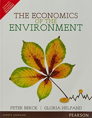 9789332550384: Economics Of The Environment, The, 1 Ed