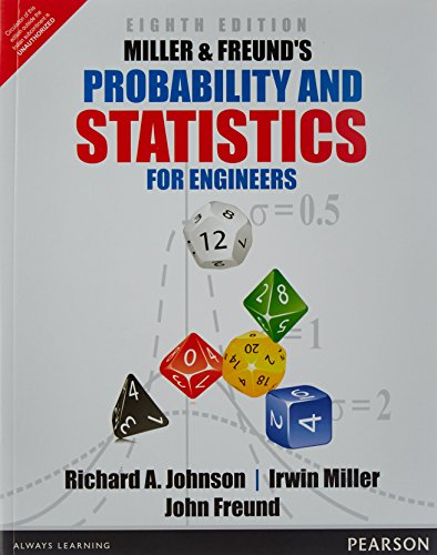 9789332550414: Miller & Freund's and Statistics for Eng