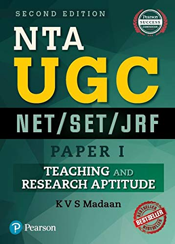 Ugc Net/Set/Jrf Paper 1: Teaching And Research: Kvs Madaan