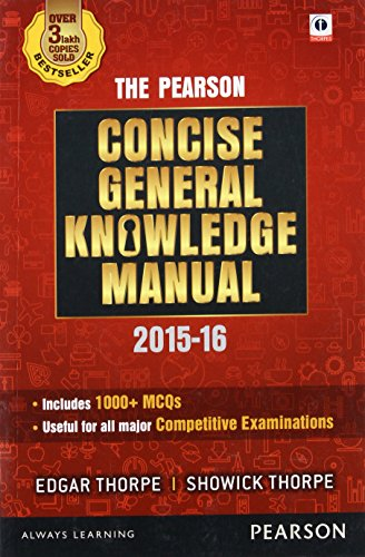 9789332551978: The Pearson Concise General Knowledge Manual 2016