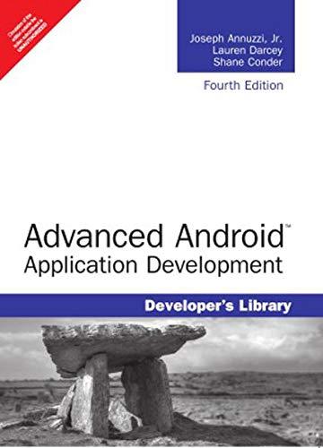 9789332552012: Advanced Android Application Development, 4/E