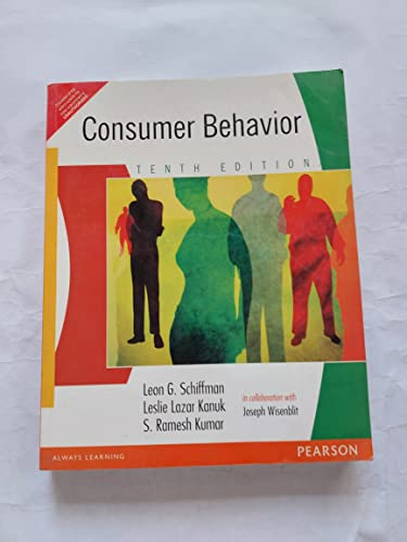 Consumer Behaviour (Four-Color Edition): Schiffman And Kumar