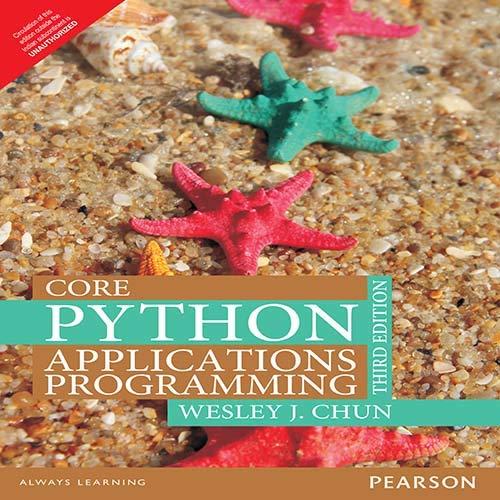 9789332555365: Core Python Applications Programming