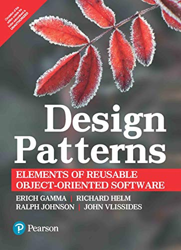 "9789332555402: ""Design Patterns: Elements of Reusable Object-Oriented Software"""