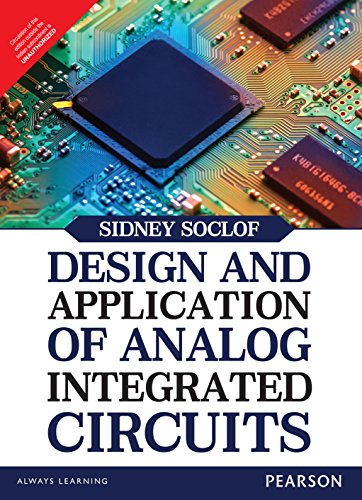 9789332556928: Design And Application Of Analog Integrated Circuits