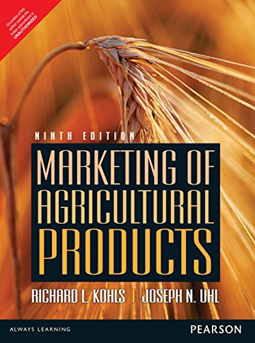 9789332556966: Marketing Of Agricultural Products 9Th Edition