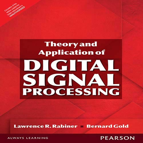 9789332560123: Theory And Application Of Digital Signal Processing