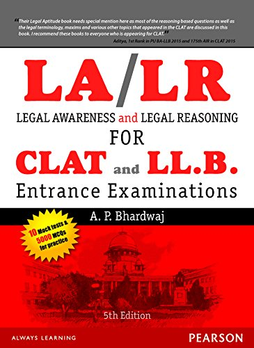 Legal Awareness and Legal Reasoning for the: A. P. Bhardwaj