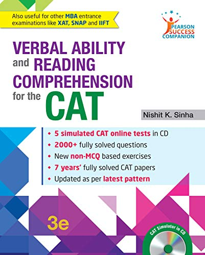 Verbal Ability And Reading Comprehension For The: Nishit K Sinha