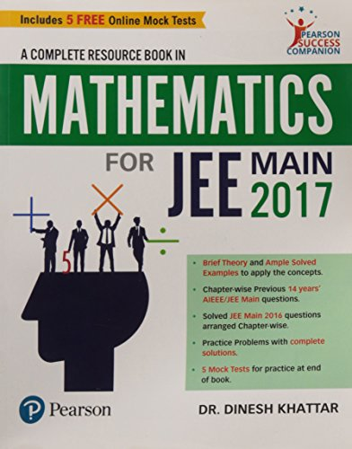 Mathematics For Jee Mains 2017: Dinesh Khattar
