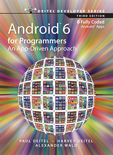 9789332570801: Android 6 for Programmers: An App-Driven Approach