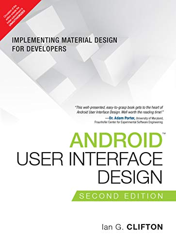 9789332570924: Android User Interface Design: Implementing Material Design For Developers