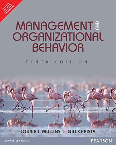 9789332571204: Management And Organisational Behaviour, 10/E