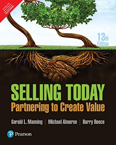 9789332574137: Selling Today: Partnering To Create Value, 13Th Edn
