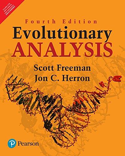 9789332577459: Evolutionary Analysis, 4Th Edition