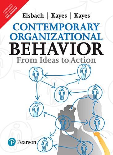 9789332578043: Contemporary Organizational Behavior