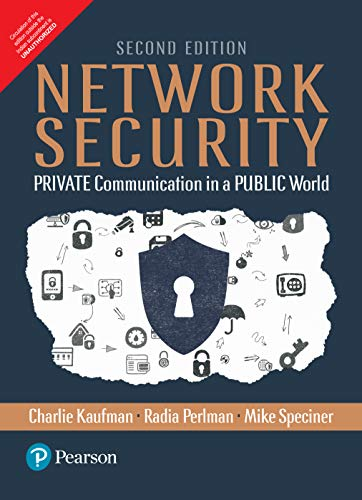 9789332578210: Network Security: Private Communication In A Public World, 2Nd Edn