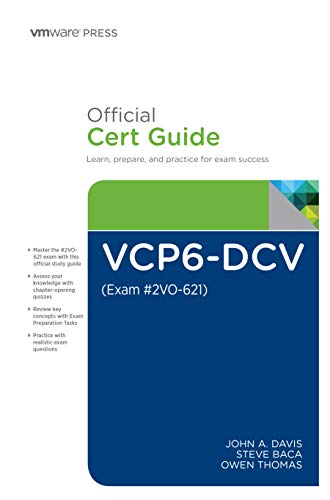 9789332581265: Vcp6-Dcv Official Cert Guide (Exam #2V0-621)
