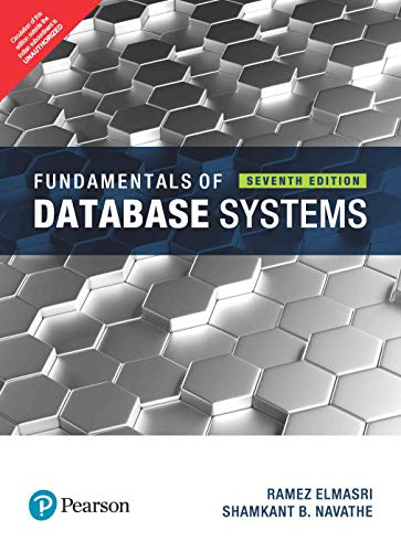 9789332582705: Fundamentals Of Database System 7Th Edition