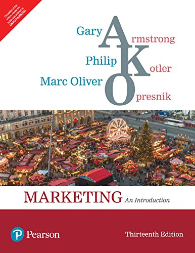 Marketing An Introduction 13/e: Gary Armstrong, Philip