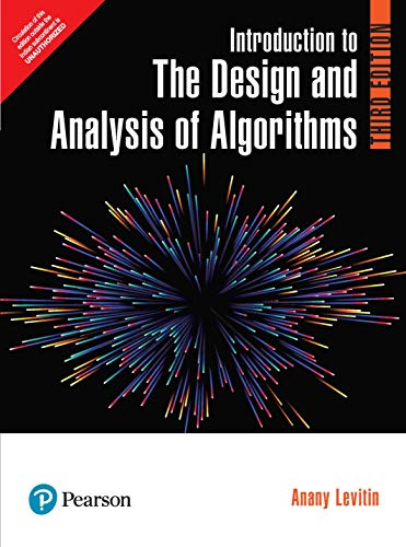 9789332585485: Introduction to the Design and Analysis of Algorithms
