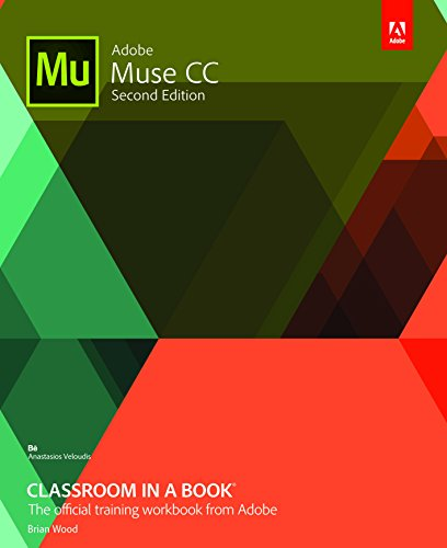 9789332585942: Adobe Muse Cc Classroom In A Book 2Nd Ed.