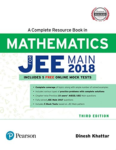 A Complete Resource Book For Jee Main: Dinesh Khattar