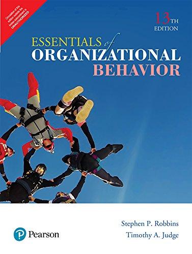 9789332587984: Essentials Of Organizational Behavior, Global Edition