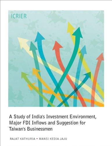 A Study of India's Investment Environment, Major: Jaju Mansi Kedia
