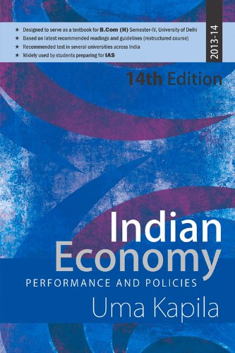 Indian Economy: Performance and Policy: Performance and