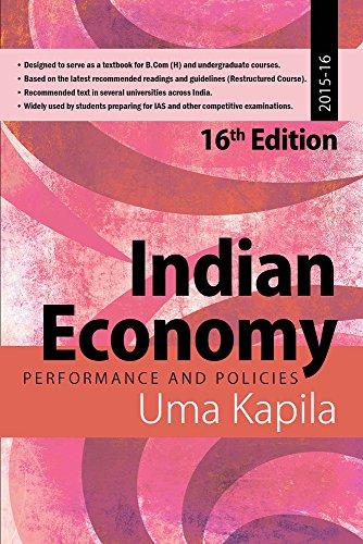 Indian Economy: Performance and Policies, 2015-16: Kapila, Uma