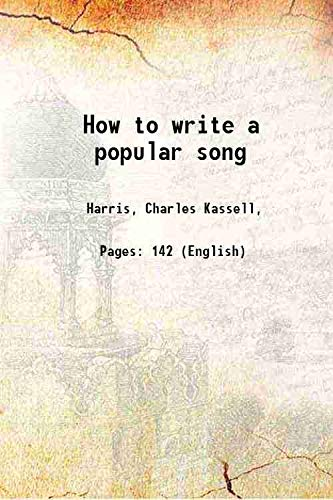 9789332850859: How to Write A Popular Song