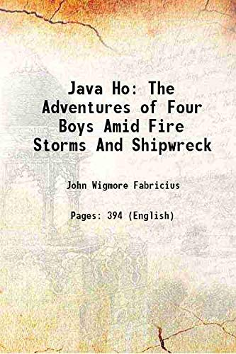 Java Ho The Adventures of Four Boys: John Wigmore Fabricius