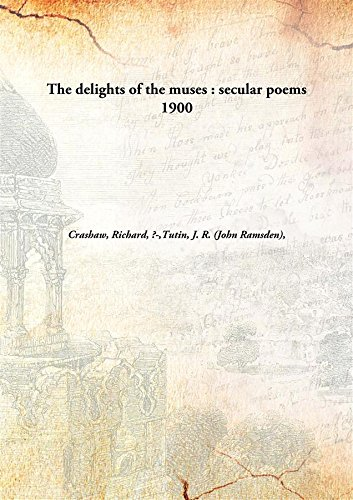 9789332856929: The delights of the muses : secular poems