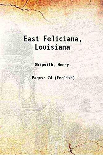 9789332858022: East Feliciana, Louisiana