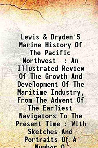 Lewis & Dryden'S Marine History of the: Wright E.W.