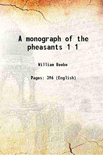 9789332867819: A monograph of the pheasants