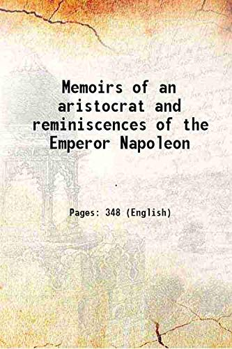 Memoirs of an aristocrat and reminiscences of: George Home