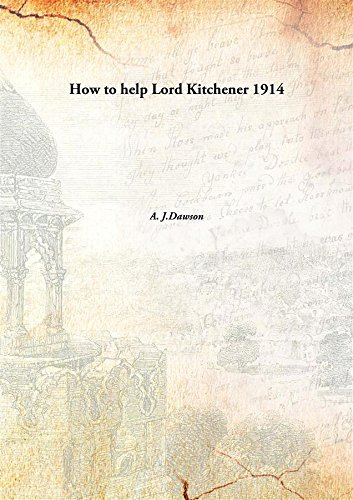 9789332882072: How to help Lord Kitchener